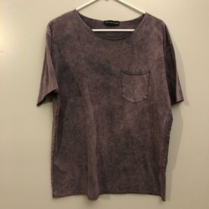 HEART & DAGGER RELAXED FIT T - SHIRT HEAVY WASH